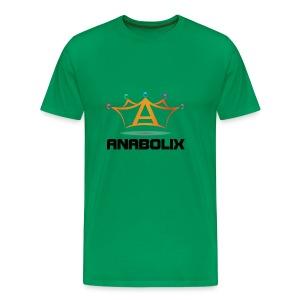 anabolix logo color - Men's Premium T-Shirt