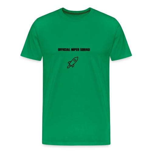 Niper goes to space - Men's Premium T-Shirt