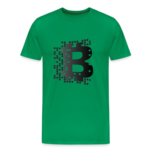 blockchainblack - Men's Premium T-Shirt