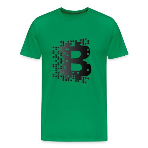 blockchainblack - Men's Premium T-Shirt