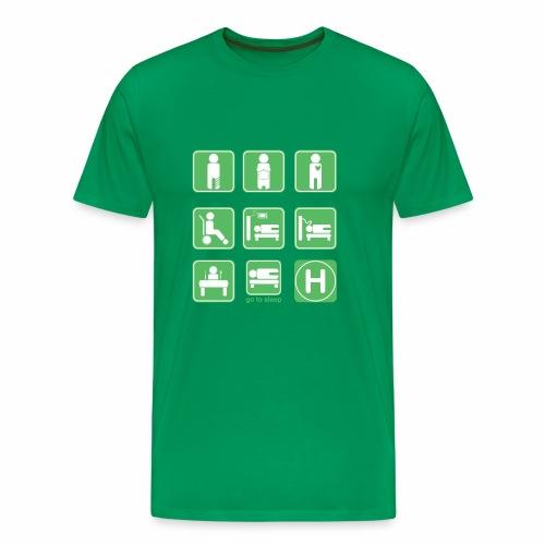 Go To Sleep - Men's Premium T-Shirt