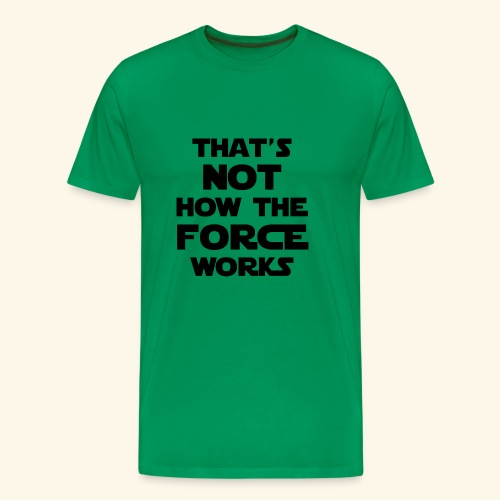 force - Men's Premium T-Shirt
