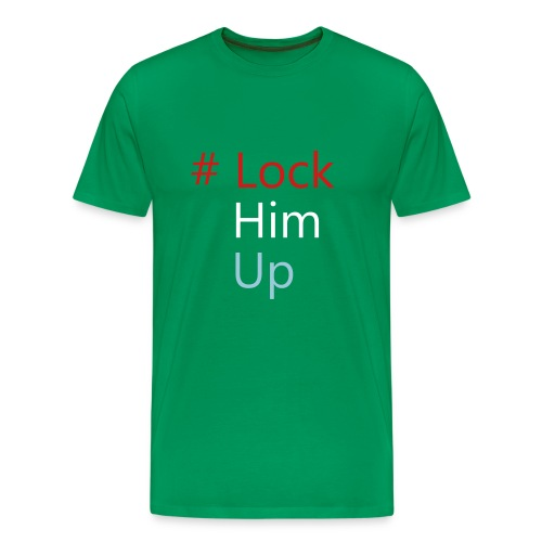 #lockhimup - Men's Premium T-Shirt