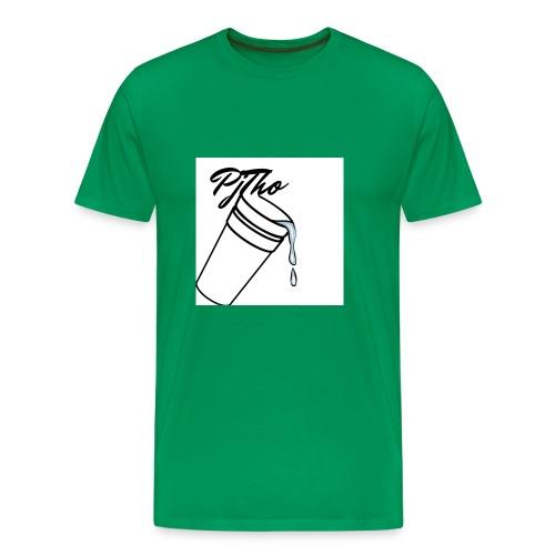 PjTho WhiteOuT - Men's Premium T-Shirt