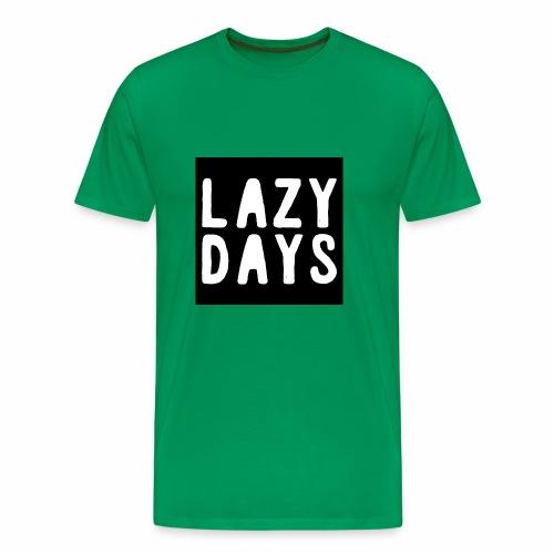 LAZY DAYS - Men's Premium T-Shirt