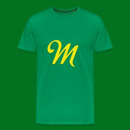 Merchant M (Yellow) - Men's Premium T-Shirt