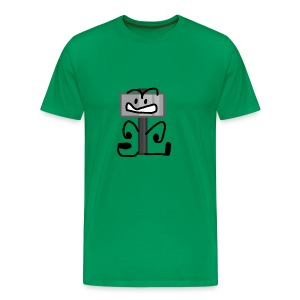 Hammer Pose - Men's Premium T-Shirt