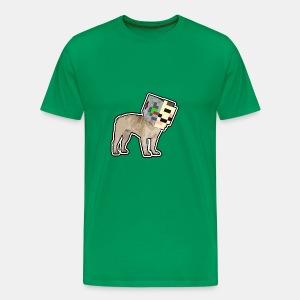 Dog PlayZ Májnkráft - Men's Premium T-Shirt