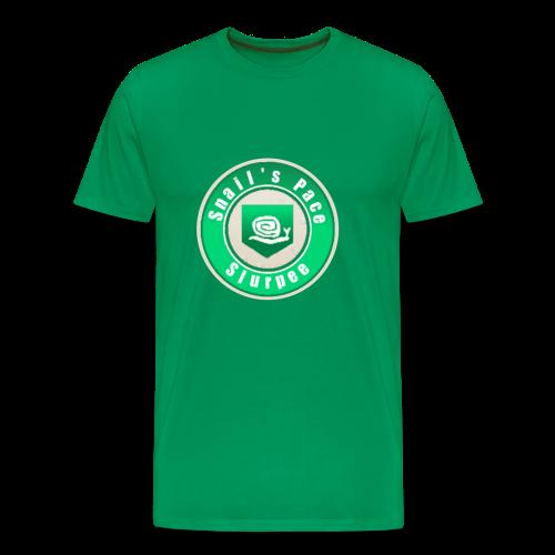 Snails Pace Slurpee - Men's Premium T-Shirt