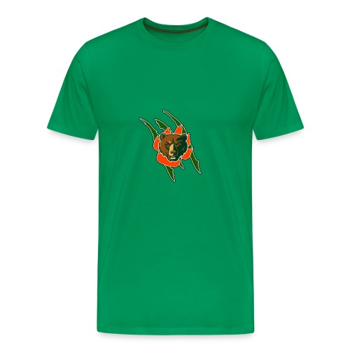 RIVERSIDE POLY BEAR LOGO - Men's Premium T-Shirt
