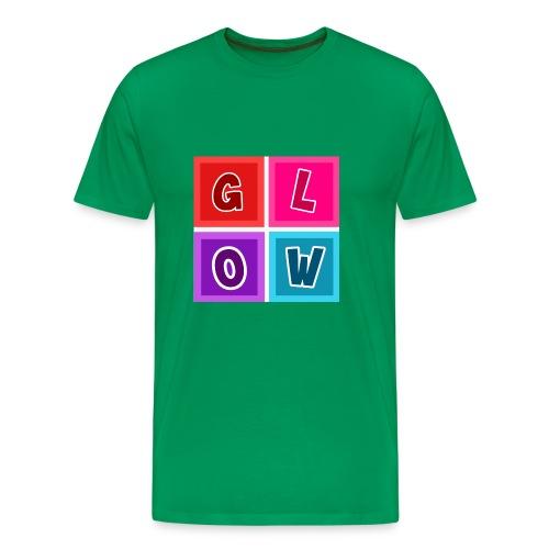 Glow Blocks - Men's Premium T-Shirt