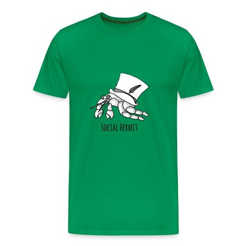 SocialHermit - Men's Premium T-Shirt