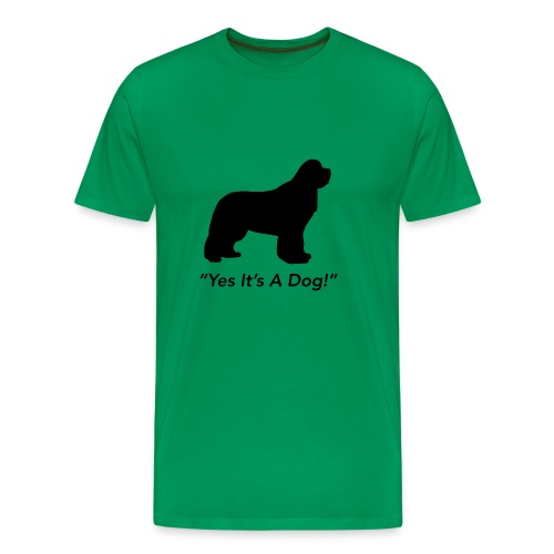 Yes Its A Dog - Men's Premium T-Shirt