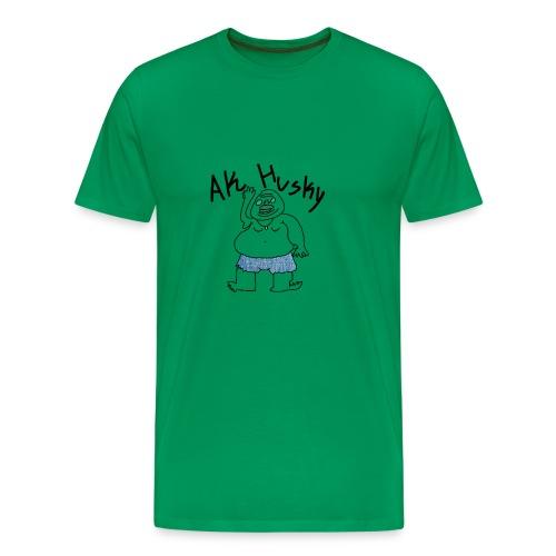 AK HUSKY - Men's Premium T-Shirt