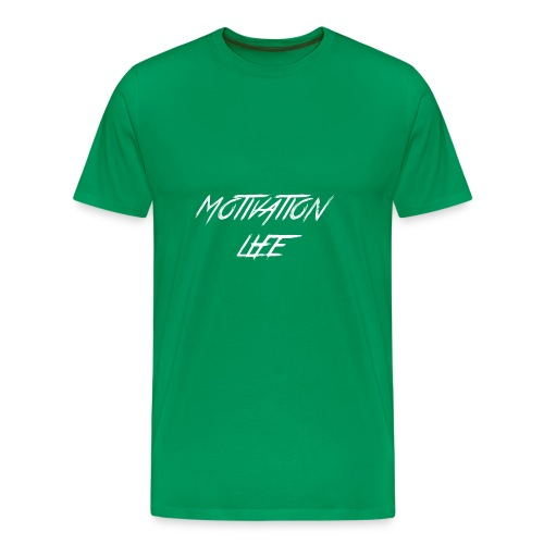 Motivation Life 1 - Men's Premium T-Shirt