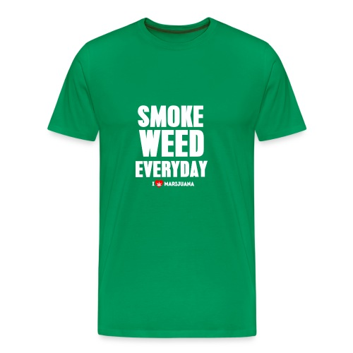 Smoke Weed Everyday - Men's Premium T-Shirt