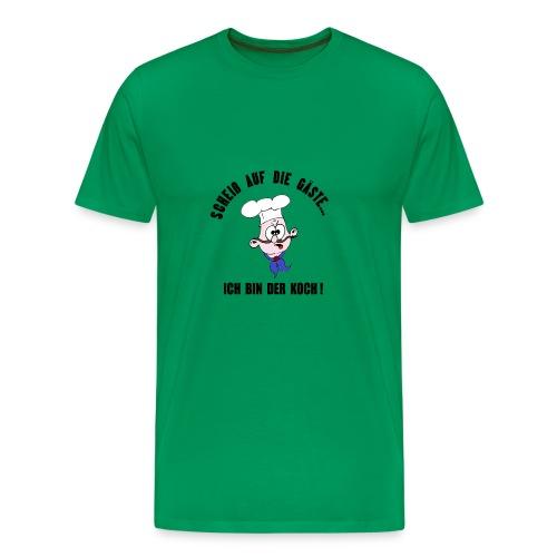 koch restaurant weihnachten gaeste - Men's Premium T-Shirt