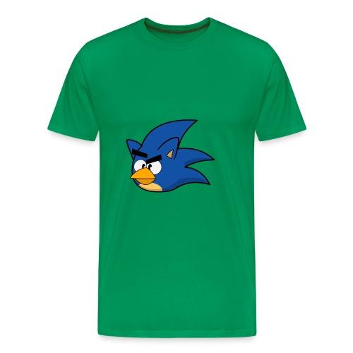 Sonic Angry Bird - Men's Premium T-Shirt