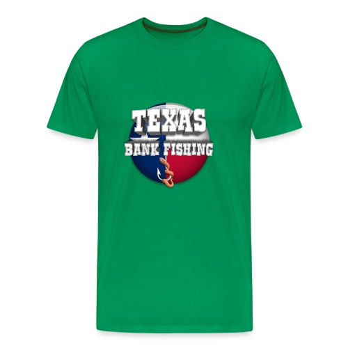 Texas Bank Fishing - Men's Premium T-Shirt