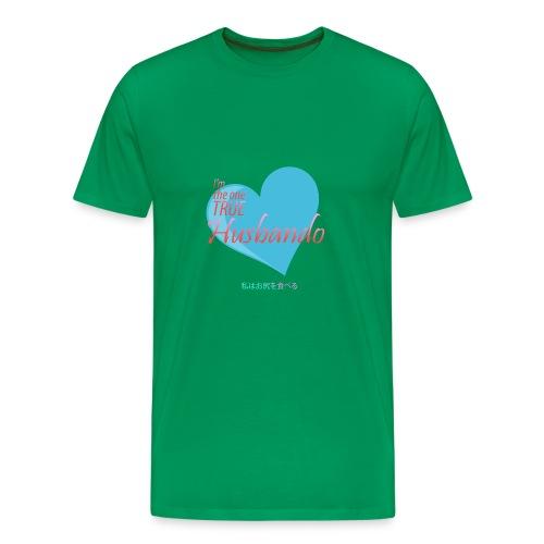 The true Husbando - Men's Premium T-Shirt