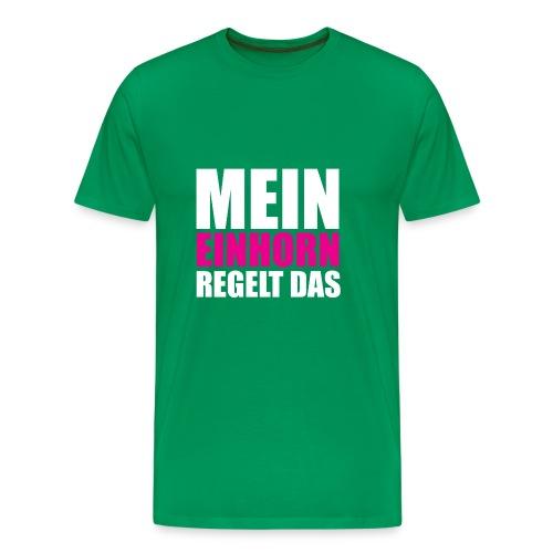 Mein Einhorn - Men's Premium T-Shirt