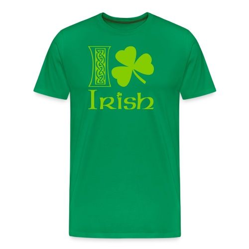 I Shamrock Irish - Men's Premium T-Shirt