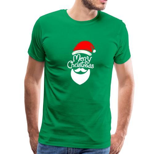 Merry Christmas Santa hat - Men's Premium T-Shirt