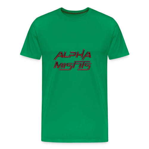 Alphamisfits Name Logo - Men's Premium T-Shirt