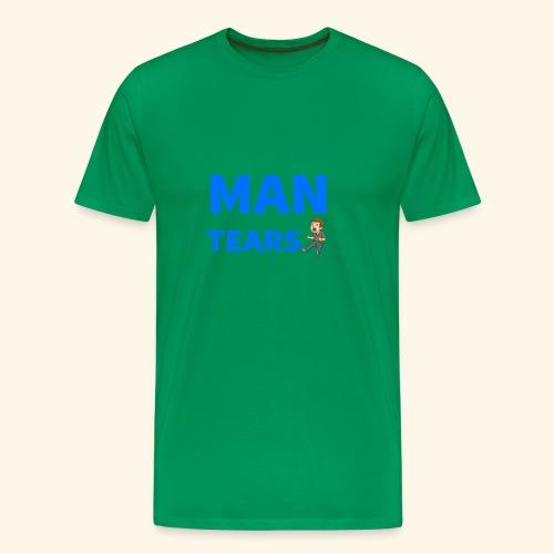 Man Tears Mug - Men's Premium T-Shirt