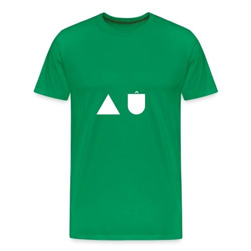 A U White - Men's Premium T-Shirt