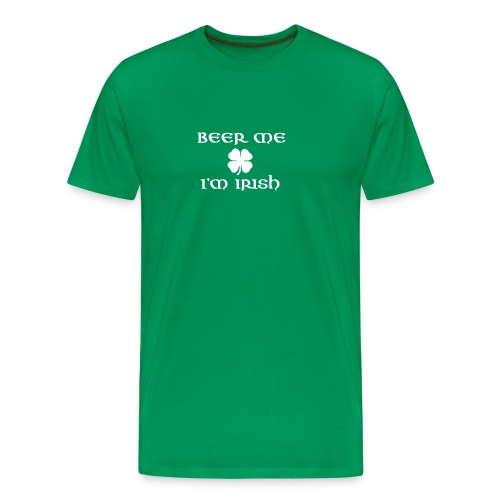 BEER ME IM IRISH - Men's Premium T-Shirt