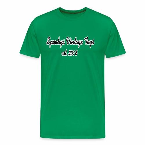 Spookys Vintage Toys Logo - Men's Premium T-Shirt