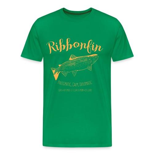 Ribbonfin House (copper) - Men's Premium T-Shirt
