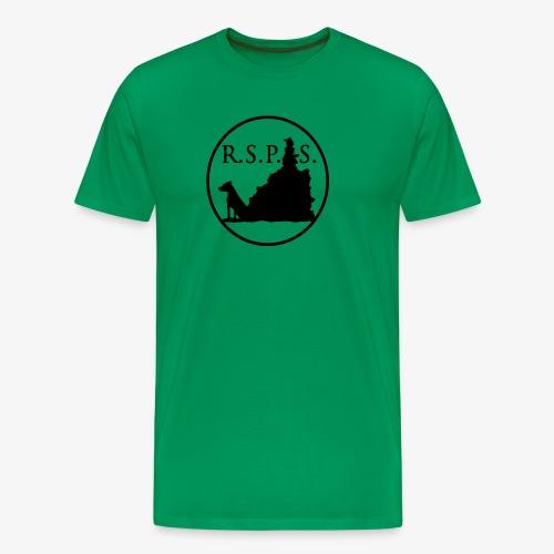 RSPS logo Circle black - Men's Premium T-Shirt