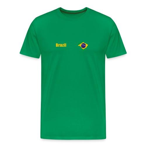 Brazil world cup T-Shirt - Men's Premium T-Shirt