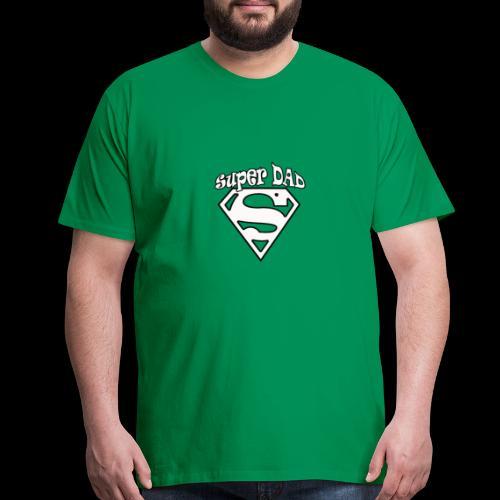 Super Dad Funny Gift idea for the family - Men's Premium T-Shirt