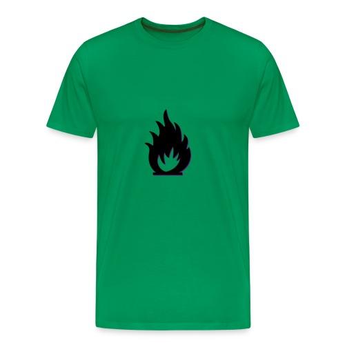 cute fire symbol - Men's Premium T-Shirt