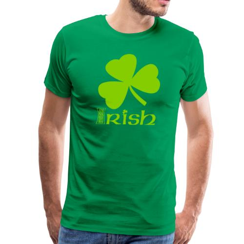 Shamrock Irish Vector - Men's Premium T-Shirt