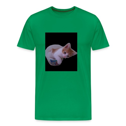 kitten explorer - Men's Premium T-Shirt
