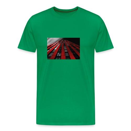 red, black & white - Men's Premium T-Shirt