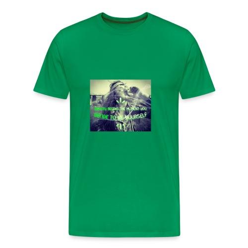 Beauty Begins The Moment You Decide... - Men's Premium T-Shirt
