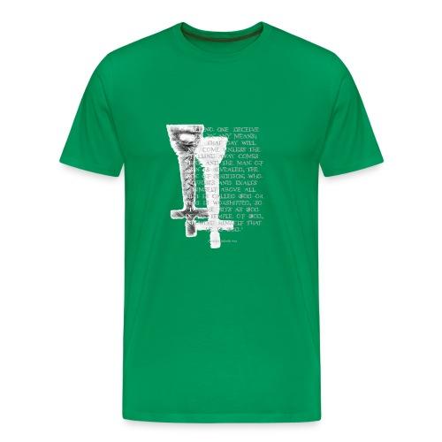 Antichrist design 1 - Men's Premium T-Shirt
