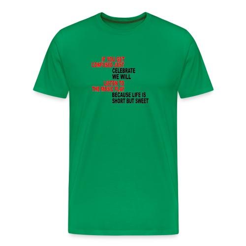 Franklin's Two Step - Men's Premium T-Shirt