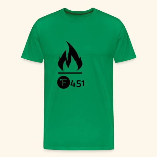 Farenheit 451 - Men's Premium T-Shirt