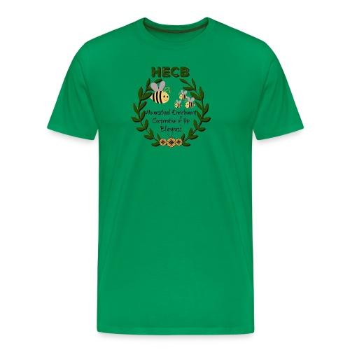 HECB Homeschool Enrichment Cooperative Bluegrass - Men's Premium T-Shirt