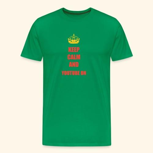 Luis 270 KEEP CALM - Men's Premium T-Shirt
