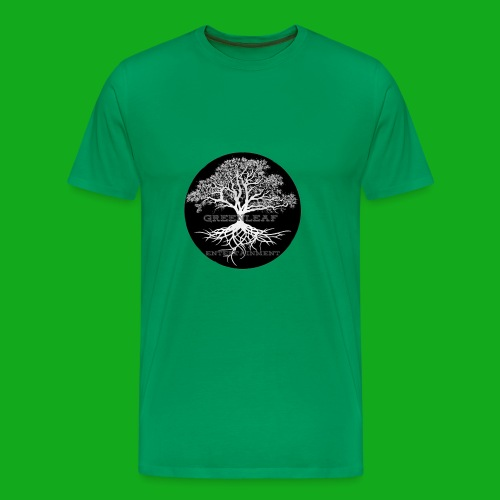 Greenleaf Wear Black logo - Men's Premium T-Shirt