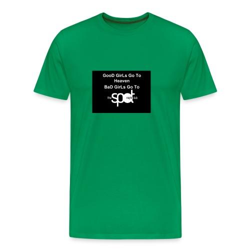 SpotTshirtBlack - Men's Premium T-Shirt