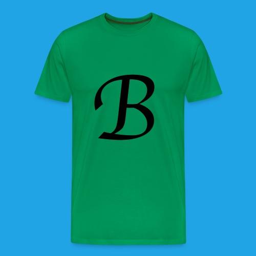 Letter B - Men's Premium T-Shirt
