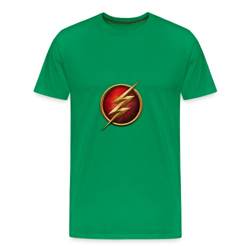 the_flash_logo_by_tremretr-d8uy5gu - Men's Premium T-Shirt
